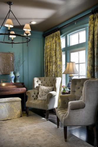 Living Room Interior Design | Knotting Hill Interior Design | Myrtle Beach, SC