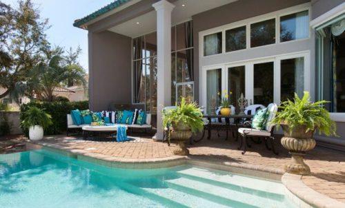 Backyard Design | Knotting Hill Interior Design | Myrtle Beach, SC