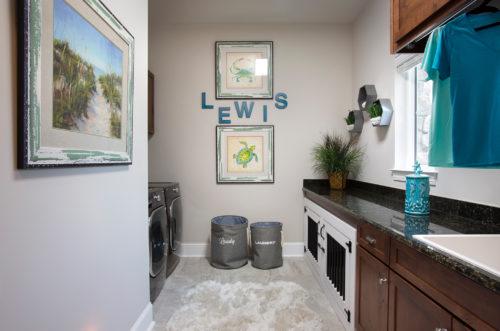 Laundry Room Interior Design | Knotting Hill Interior Design | Myrtle Beach, SC