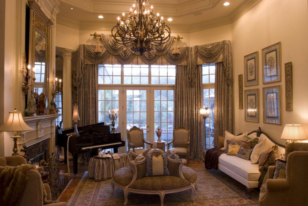 Living Room Design | Knotting Hill Interior Design | Myrtle Beach, SC