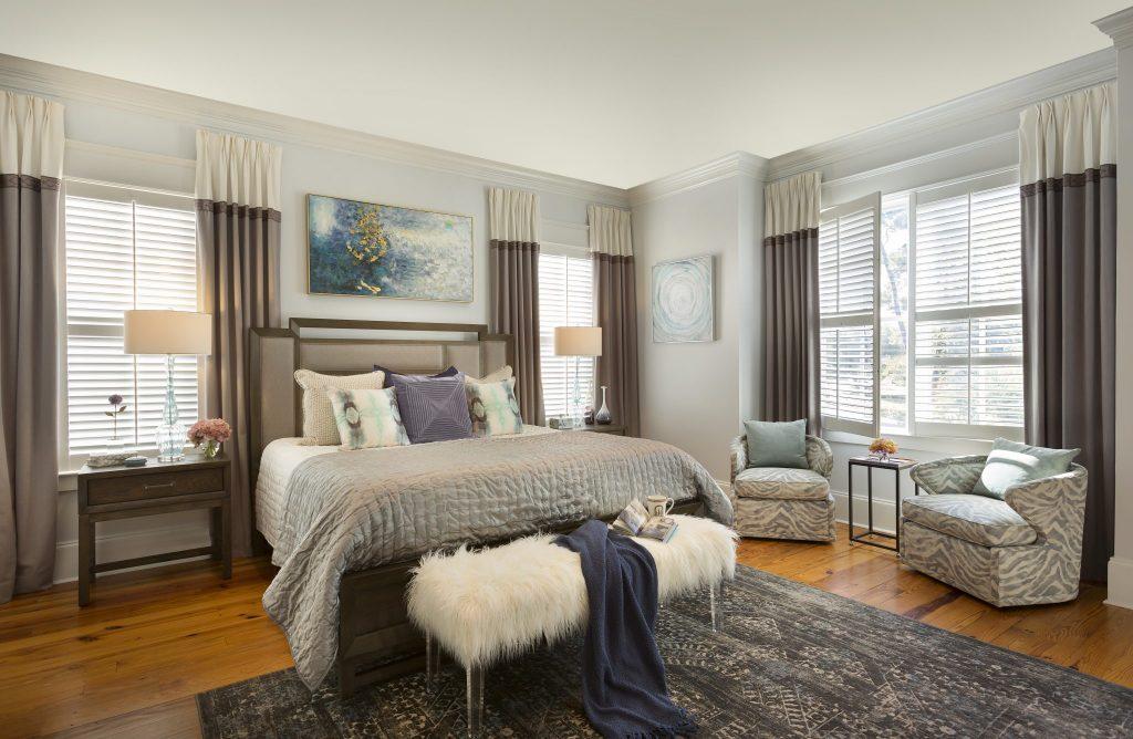 COASTAL LUXE BEDROOM
