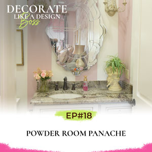 Decorate Like A Design Boss with Kimberly Grigg   Powder Room Panache